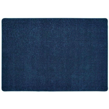 KIDplush Deep Blue Solid Carpet