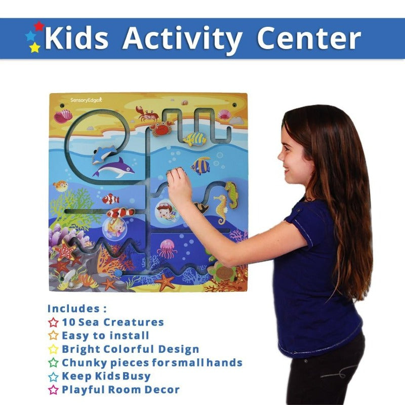kids activity center ocean adventure wall toy