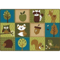 KIDSoft Nature's Friends Toddler Rug