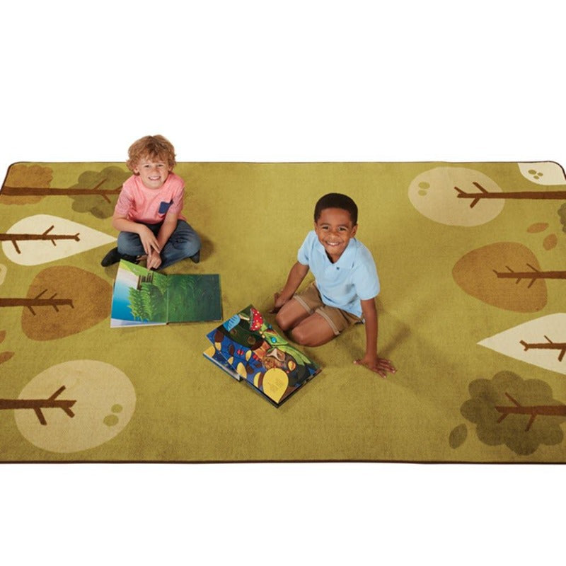 KIDSoft Tranquil Trees Rug