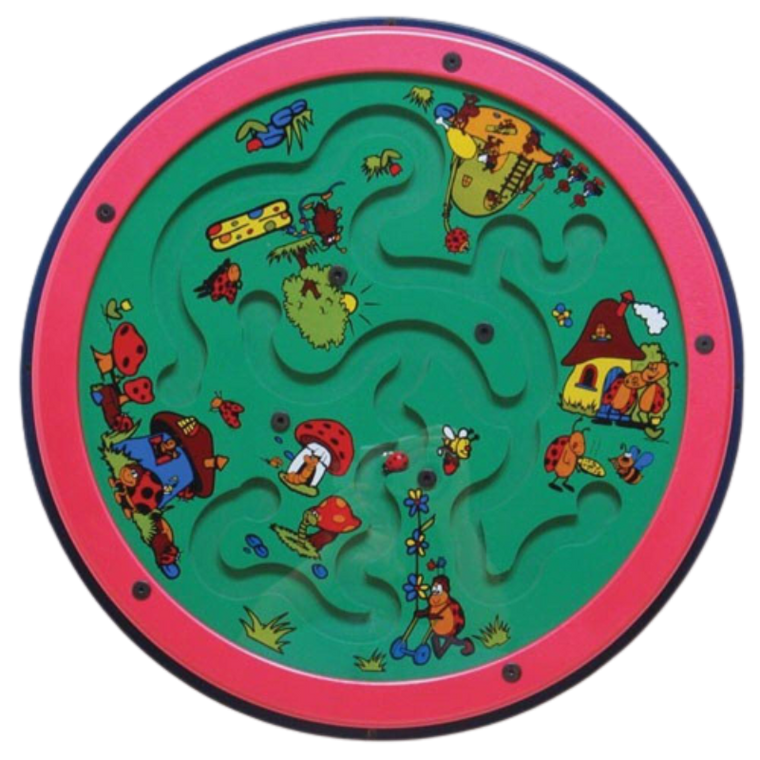Ladybug Lane Wall Activity Maze Toy