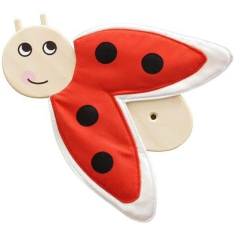 Ladybug Sensory Wooden Play Wall Decoration