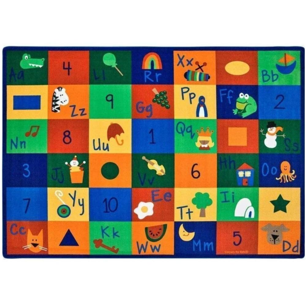 Learning Blocks Factory Second Rug