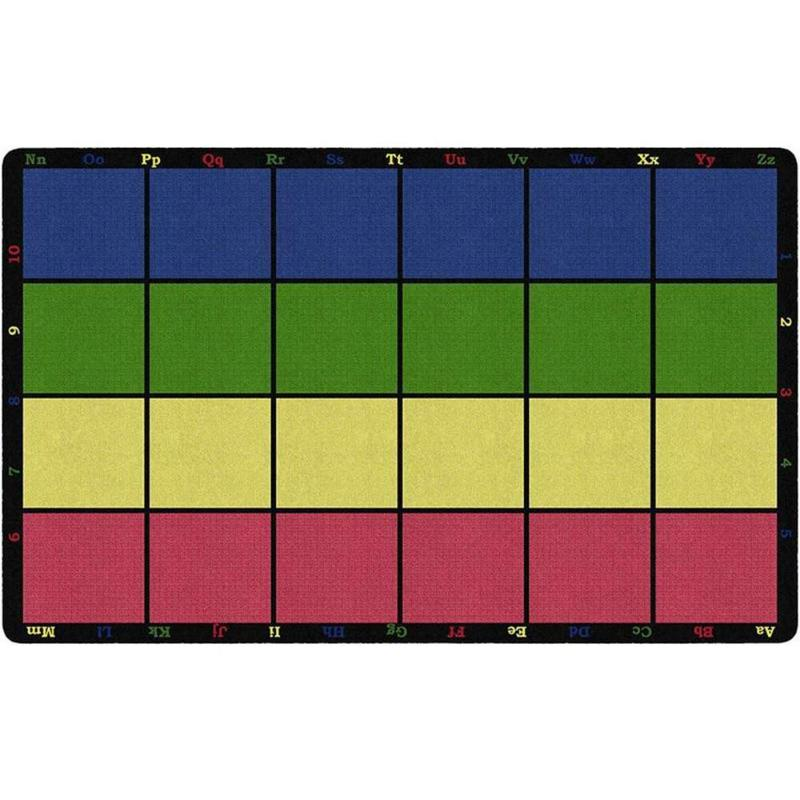 Learning Grid Seating Rug