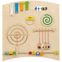 Learning & Sensory Activity Wall Panel - Haba 120216
