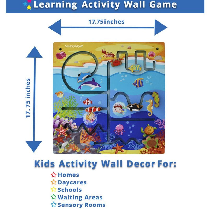 Ocean Adventure Activity Center Wall Toy