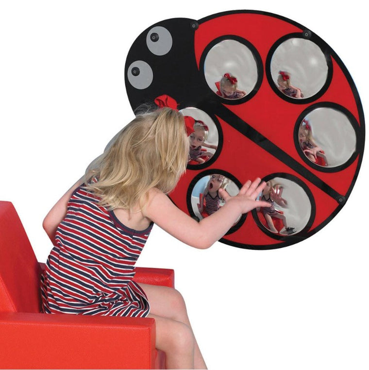 Lily the Ladybug Bubble Mirror
