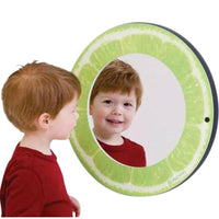 Lime Theme Wall Mirror