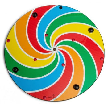 Lollipop Pinwheel Wall Activity Toy by Playscapes 25-LOL-001