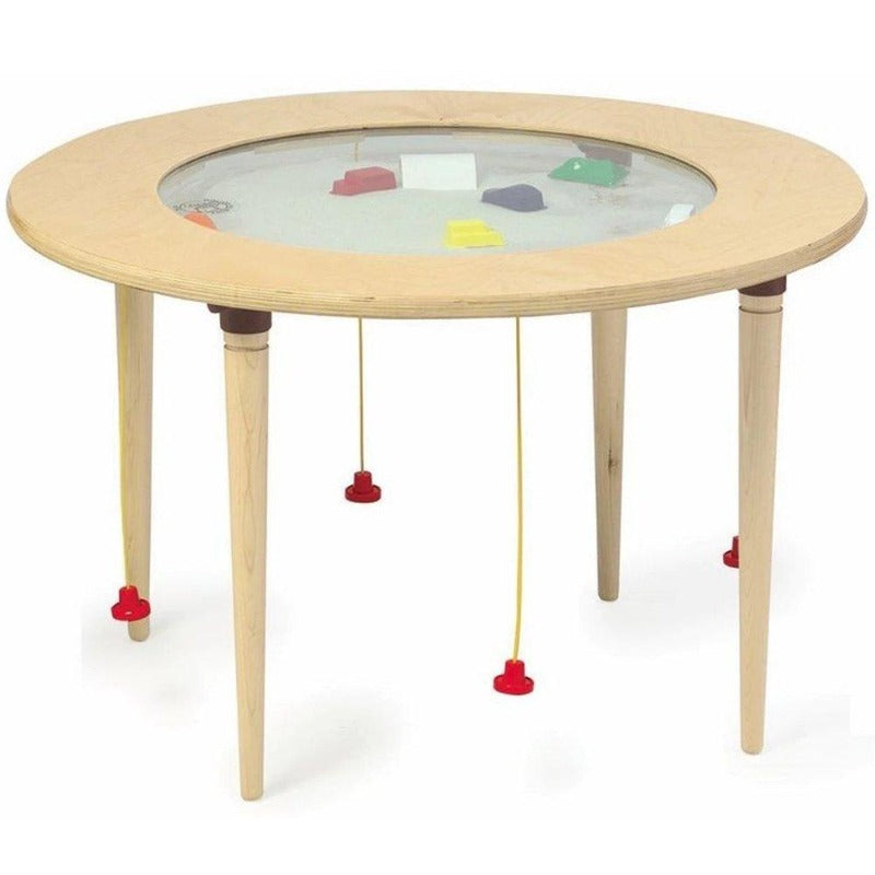 Magnetic Activity Round Activity Sand Table - Gressco Y1203622