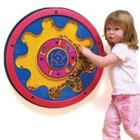 Math Beads Spinning Maze Wall Toy