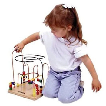 Mini Rollercoaster Bead Toy