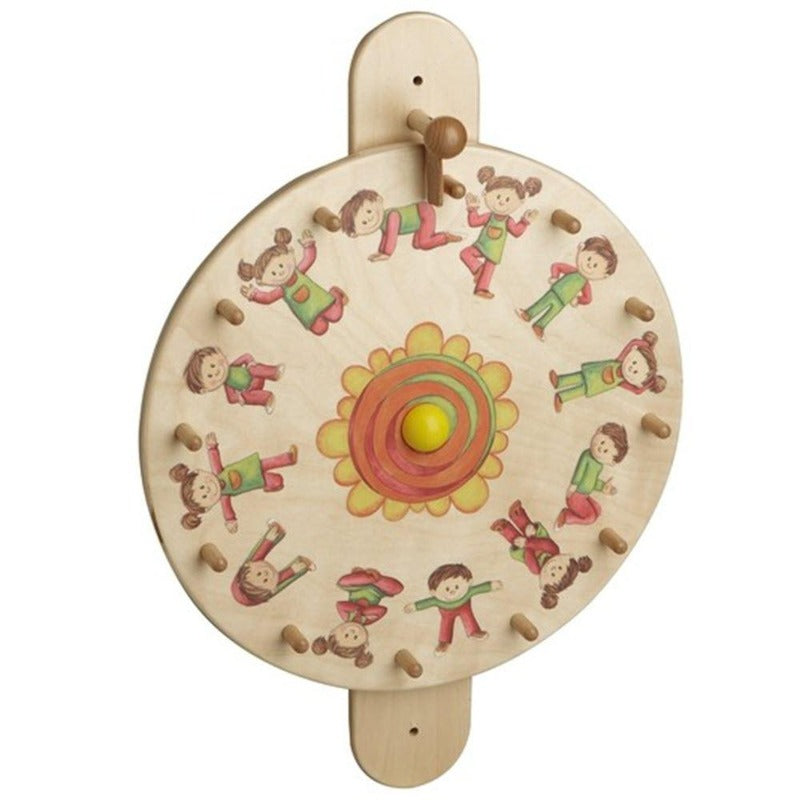 Movement Turntable Exercise Wall Activity Toy - 120365 HABA