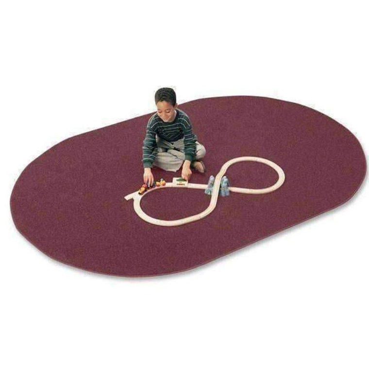 Mt. St. Helen's Oval Area Rug