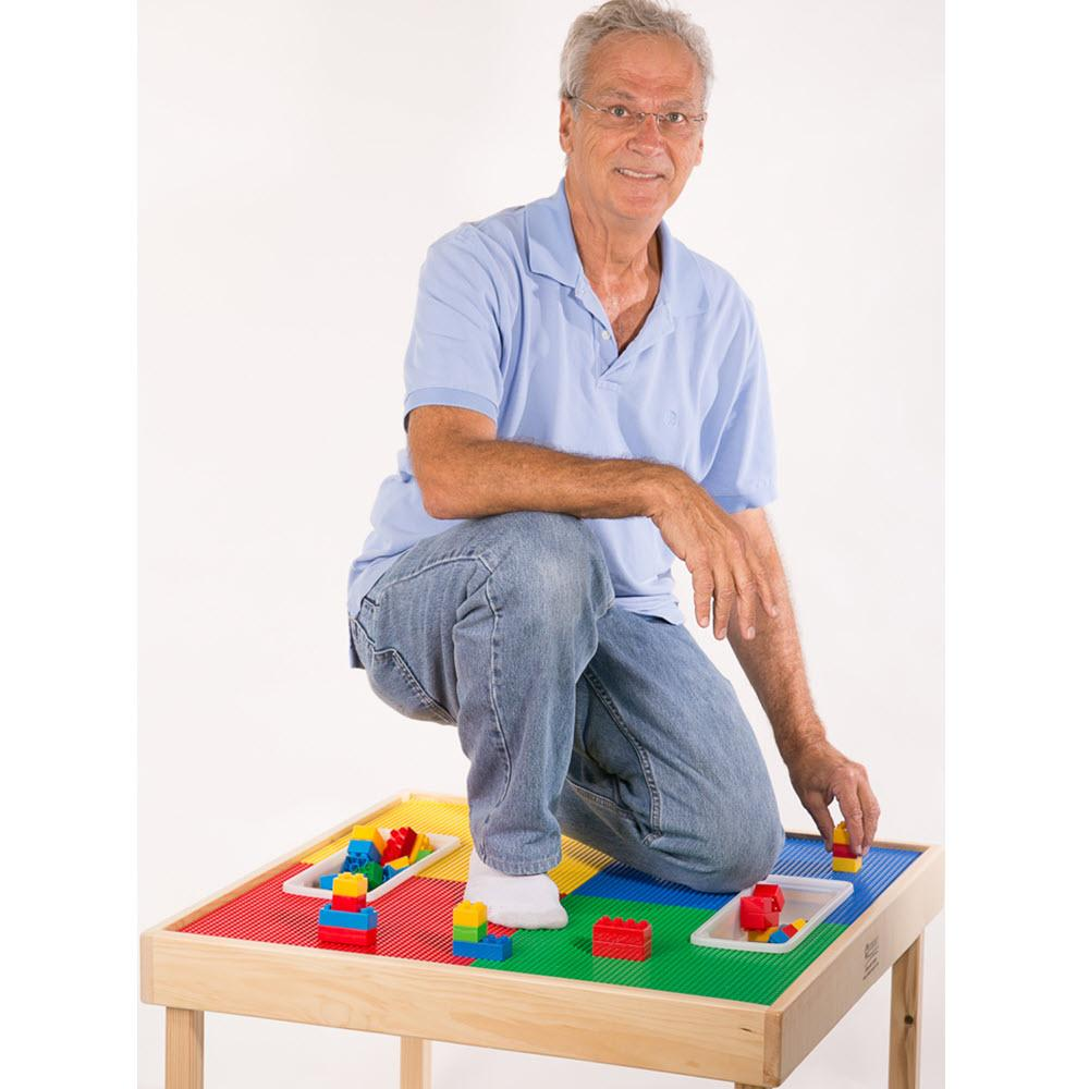 Multi Use Wood Activity Table