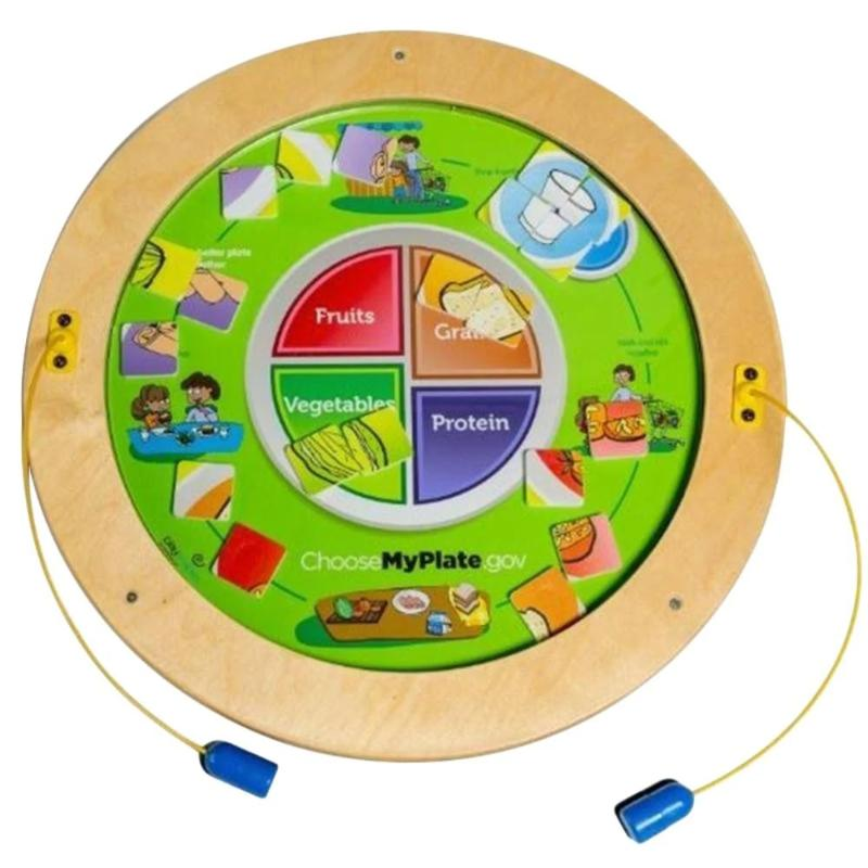 MyPlate Magnetic Wall Activity Panel