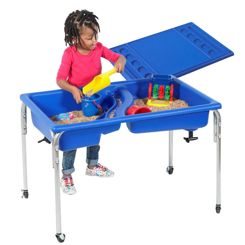 Lid for Childrens Factory Small Blue Sensory Table