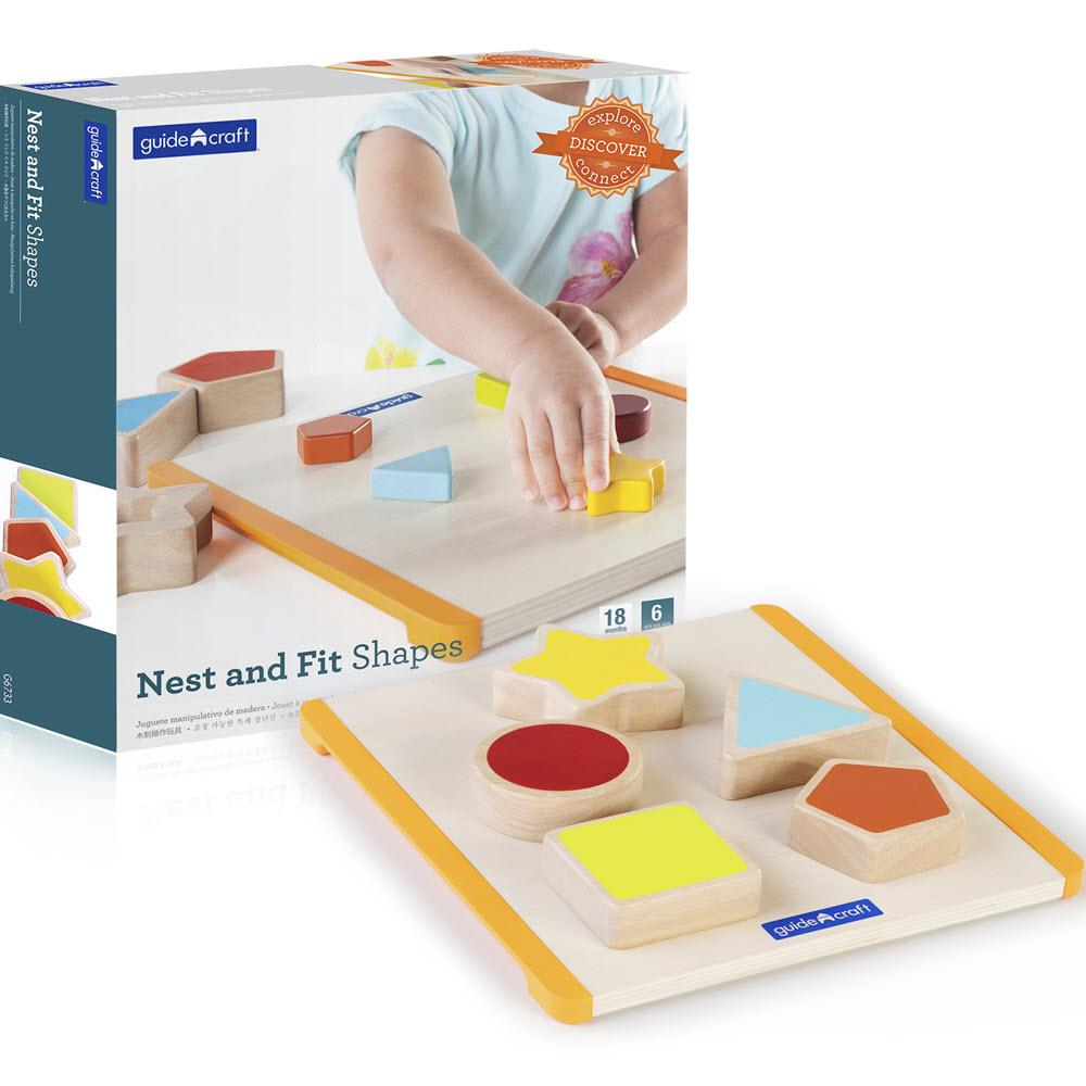 Nest and Fit Shapes Toy