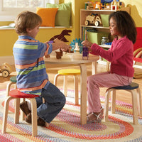 Nordic Table & Stool Set in Primary