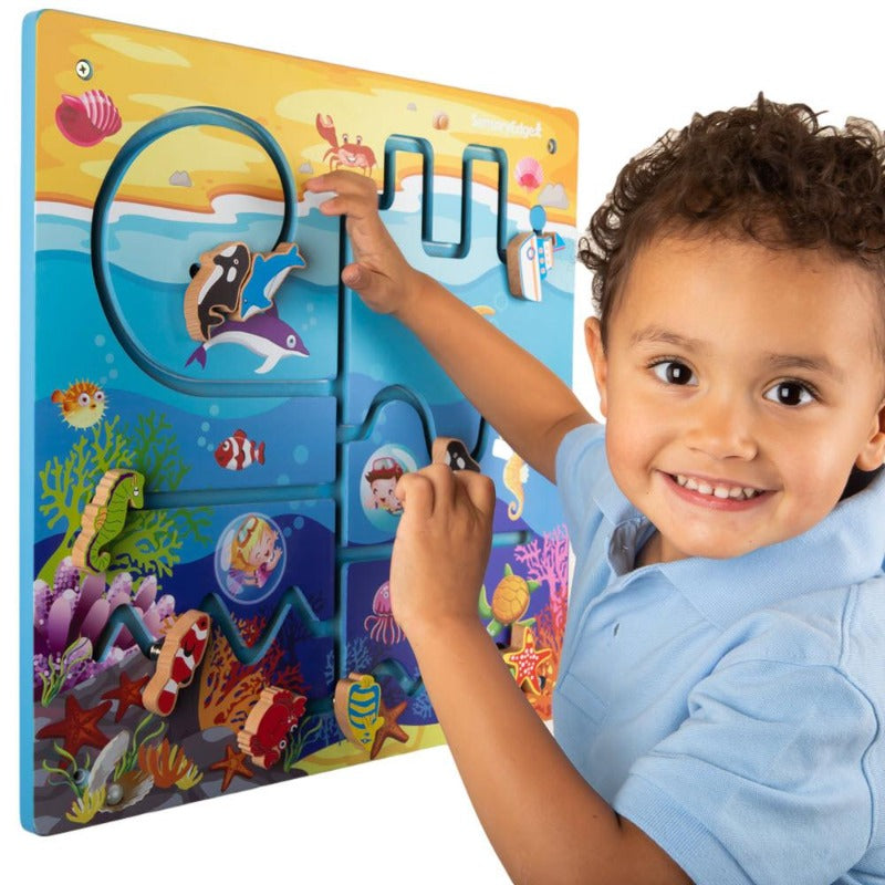 ocean adventure toddler wall toy