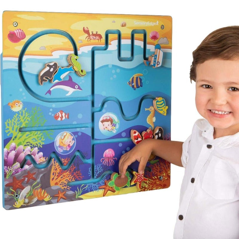 ocean adventure wall toy
