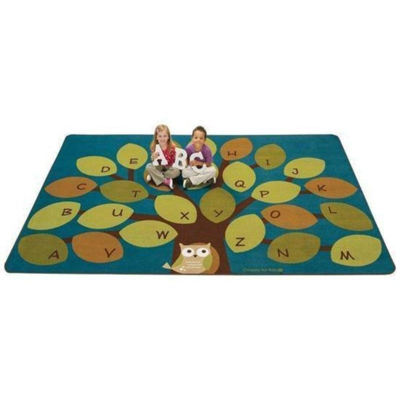Owl-phabet Tree Factory Second Rug