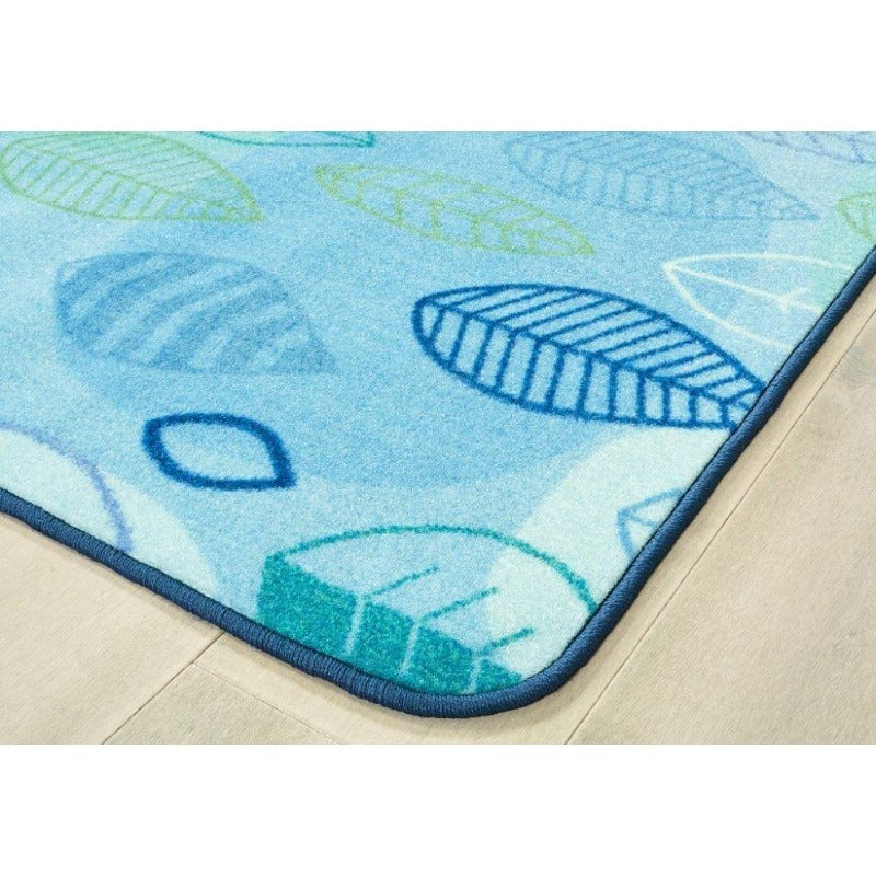 Peaceful Spaces Leaf Rug