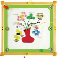 Play from the Top Bees and Flowers Activity Table