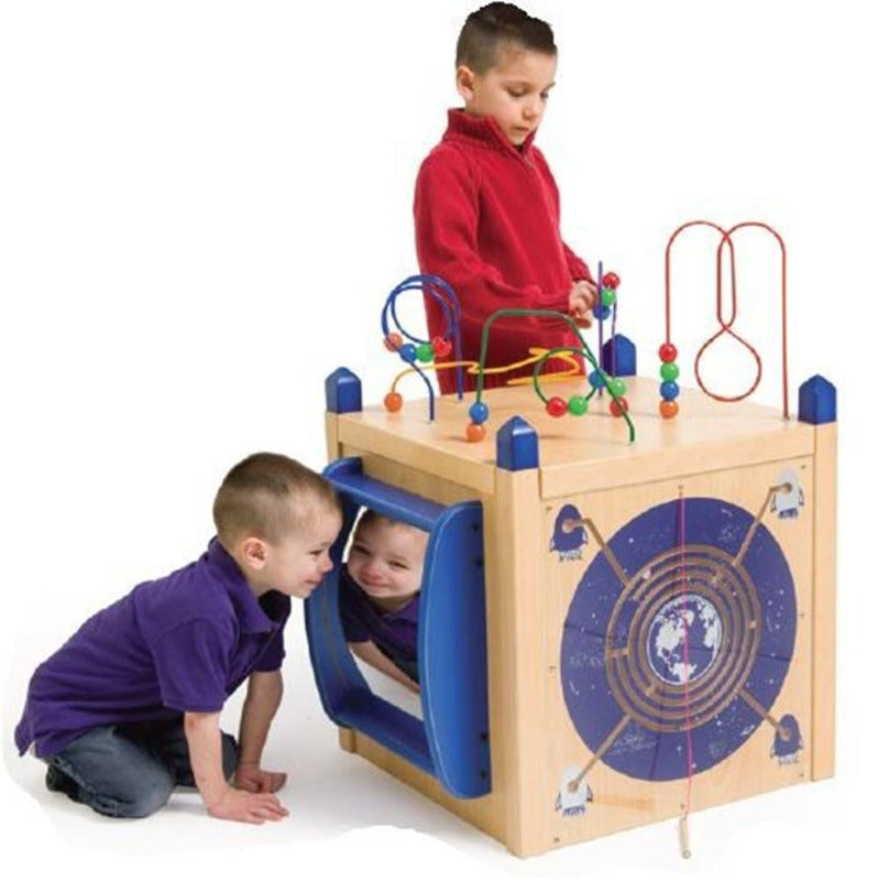 Play Panel Discovery Activity Island Cube - Gressco/Playscapes