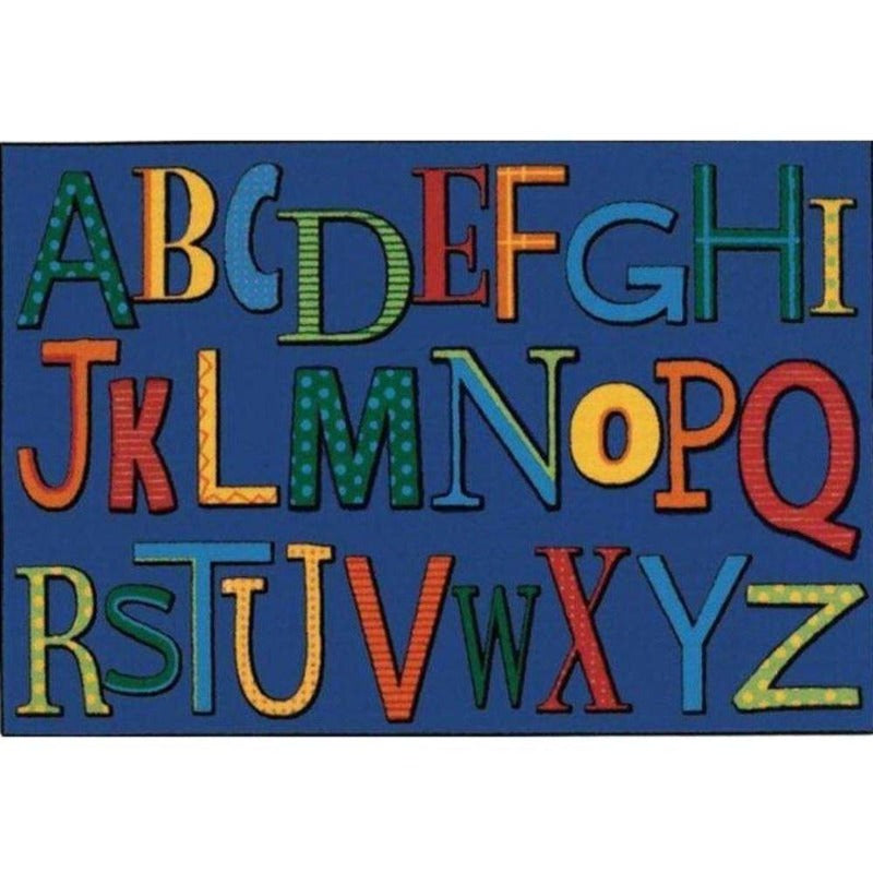 Playful Value Line Alphabet Rug