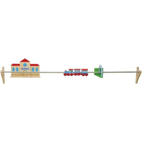 Push Along Train Rail Wall Activity Panel