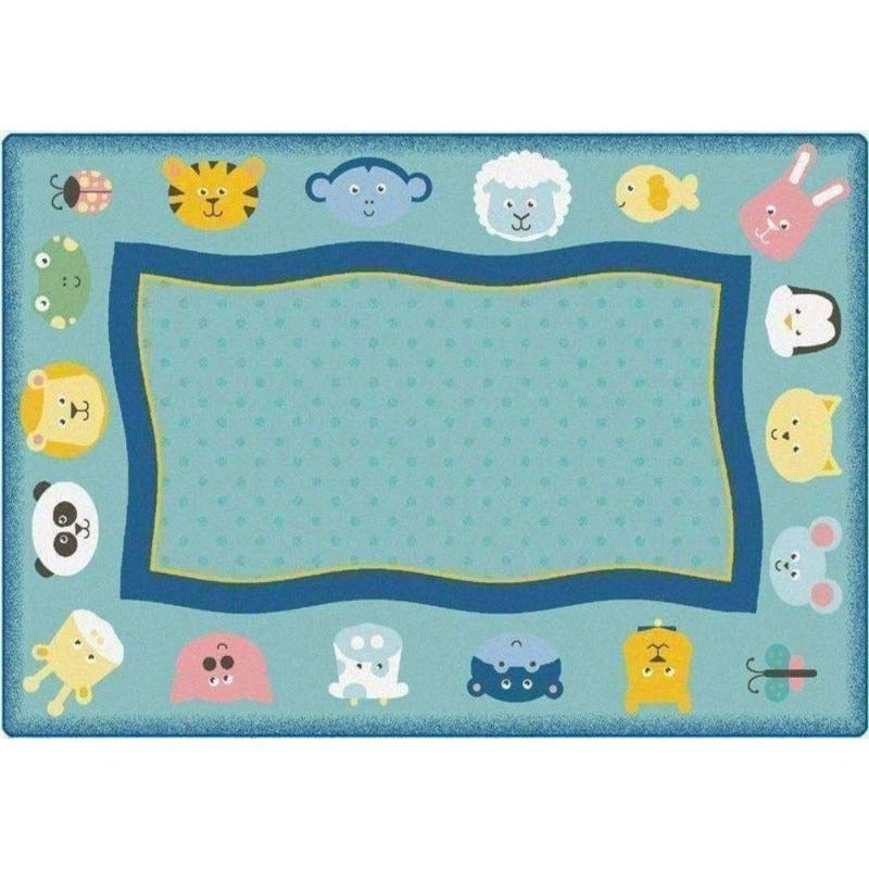 Quiet Time Animal Factory Second Rug 6' x 9'