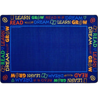 Read to Dream Border Rug