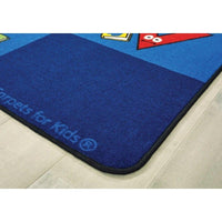 Reading Letters Seating Rug
