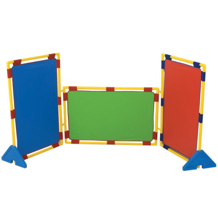 Rectangular Rainbow Play Panel Set of 3