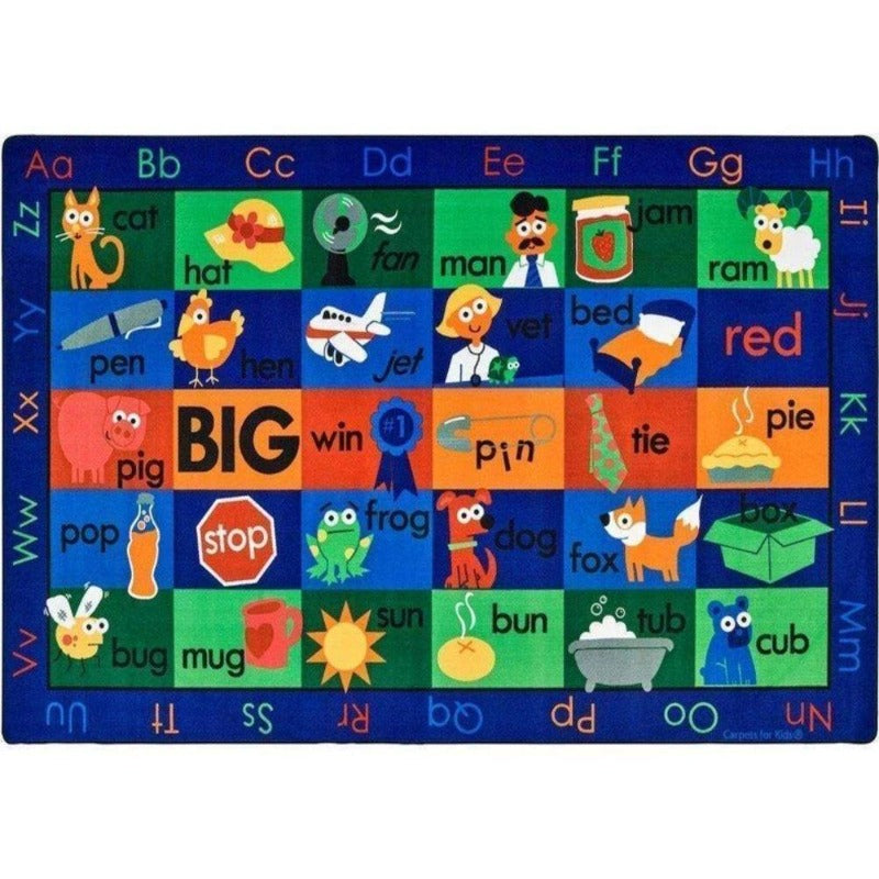 Rhyme Time Factory Second Rug