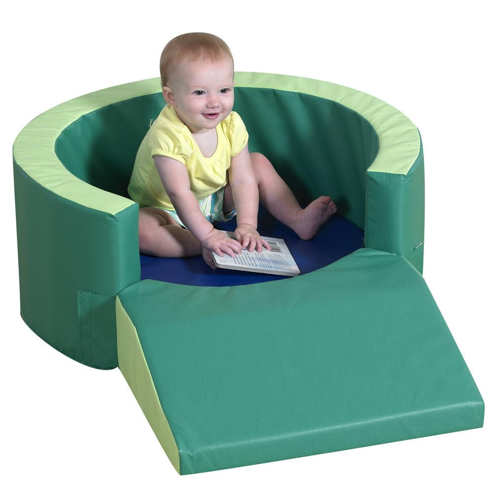 Round Relaxing Soft Play Toddler Retreat