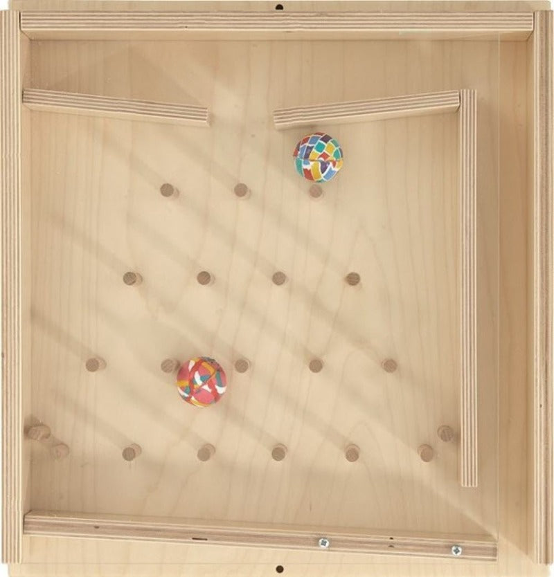 Rubber Ball Plinko Sensory Wall Activity Toy