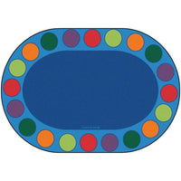Seating Circles Children's Oval Rug