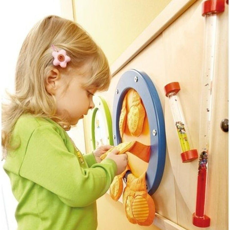 Sensory Touch & Feel Pouches Wall Panel