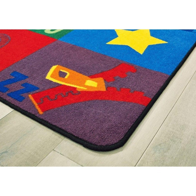 Sequential Seating Literacy Rug
