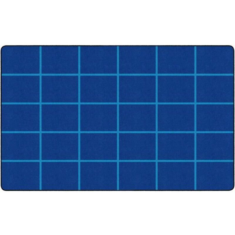 Serene Be Bold Blue Seating Rug