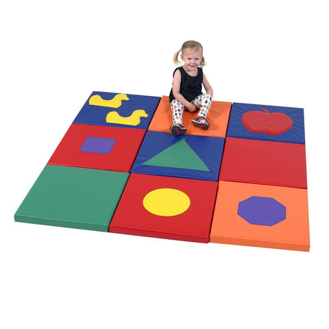 Shape and Play Sensory Mat Squares