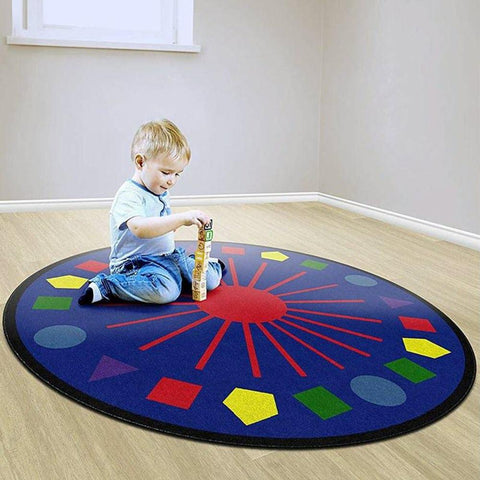 Shapes Galore Rug 6' Round