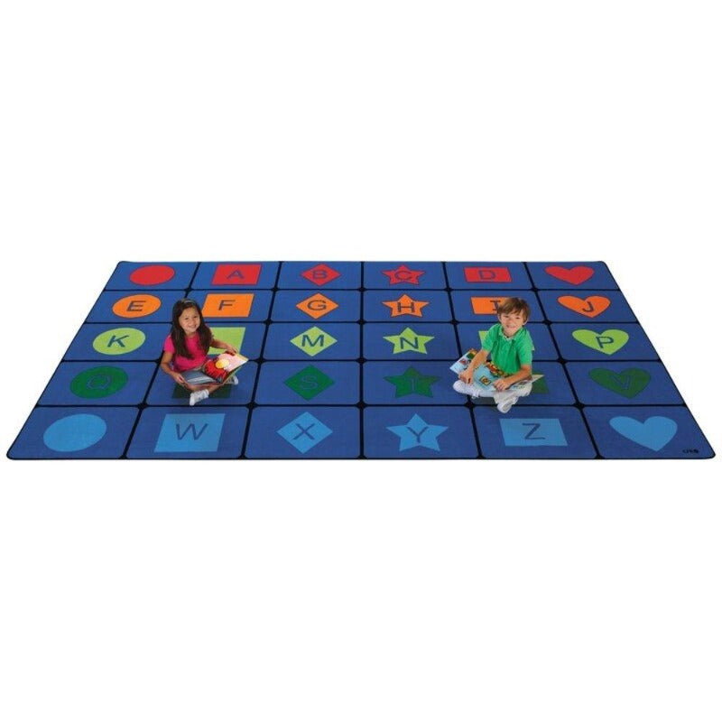 Simple Shapes Seating Rug