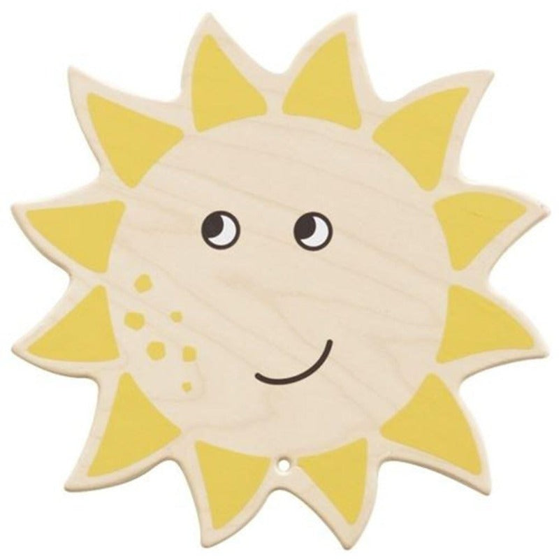 Smiling Sun Wood Wall Decor - HABA 149927