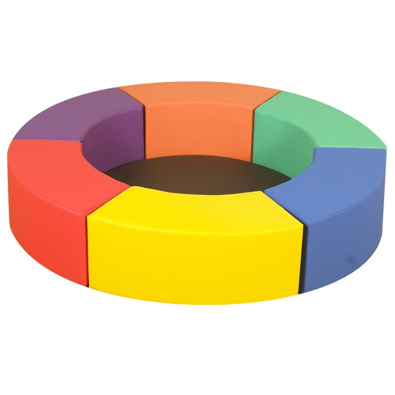 Soft Play Rainbow Circle Seats