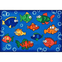 Something Fishy Factory Second Rug