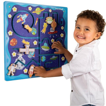 space travel pathfinder wall toy