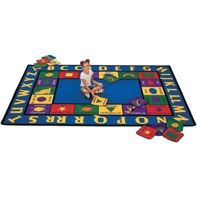 Spanish English Bilingual Rug